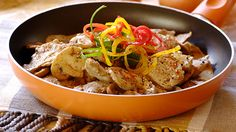 Sliced Pork Fillet with Mustard and Mushrooms - This succulent pork dish is packed full of strong flavours contributed by the mustard and mushrooms!