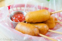 Homemade Corn Dogs from Scratch