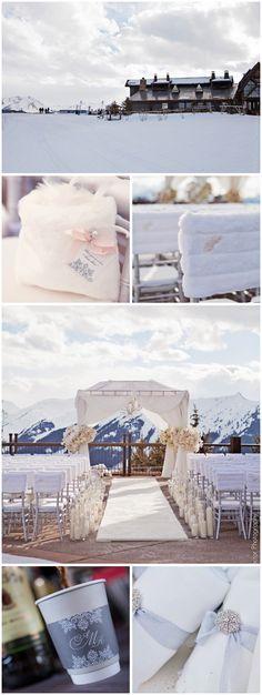 Winter Wedding Aspen Mountain, Robin Proctor Photography