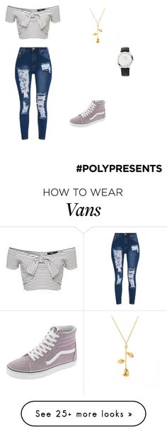 """#PolyPresents: New Year's Resolutions"" by woahitsjane on Polyvore featuring Vans, Links of London, contestentry and polyPresents"