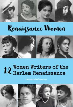 Women writers of the Harlem Renaissancee