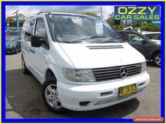 2003 Mercedes-Benz Vito 108CDI White Manual 5sp M Van #mercedesbenz #vito #forsale #australia