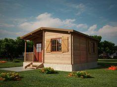Houtskeletbouw Chalet Salaj | Houten huis bouwen