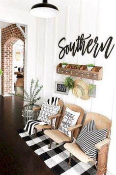 52 modern farmhouse living room decor ideas