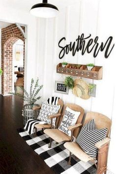 52 modern farmhouse living room decor ideas #modernhomedecor
