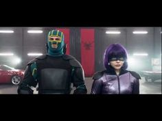 *Kick-Ass 2* - Official Trailer (2013) [HD] Can't help it, I LOVE this movie