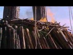 Ending of the Wicker Man 1973
