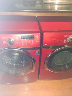 My Washer and Dryer make me actually like doing laundry