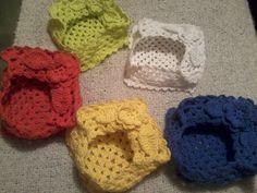 Servilleteros a Crochet