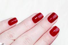 opi nailpolish red, red nailpolish