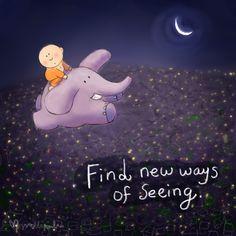 Buddha Doodle: Up up and Away...
