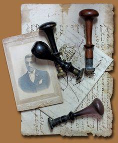 Wax seal stamps #gentleman #masculine #tribute #ceremony #memorial #funeral #xomemories