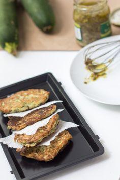 Zucchini fritters   bon appet'eat