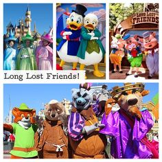 Gonna check out the Long Lost Friends LTM at Disneyland this week.