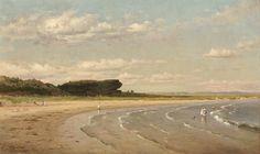 Worthington Whittredge, 'Second Beach,' Newport, c. 1878/1880, National Gallery of Art, Washington D.C.