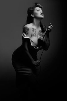 Pin Up!! Love it!.| Pinup Girl  http://thepinuppodcast.com features pinup models and pin up photographers.