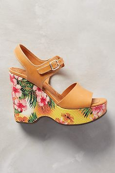 Chie Mihara Hellen Wedges - anthropologie.com #AnthroFave #anthropologie
