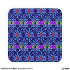 Bodacious Pattern Beverage Coaster
