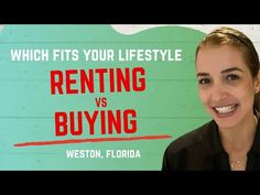 Renting if: I want to live in the area for less than two years. I want to maintain flexibility to move I am working on repairing my credit Saving money for a. Pet Goldfish, Rent Vs Buy, Real Estate Video, Down Payment, Tax Deductions, Renting, Stability, Saving Money, Flexibility