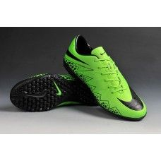 reputable site 5fb4c 08541 Sale Nike Hypervenom Phantom II TF Green Black cheap football shoes Cheap  Football Shoes, Nike
