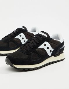 36c89132e59f Saucony Shadow Original Sneakers In Black S70424-2