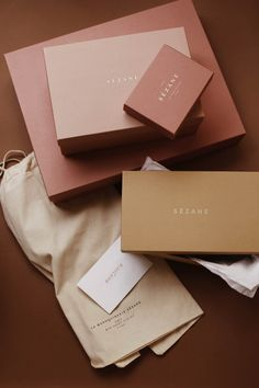 For The Love of Sezane - Audrey Leighton Skincare Packaging, Brand Packaging, Box Packaging, Luxury Packaging, Packaging Stickers, Pretty Packaging, Beauty Packaging, Clothing Packaging, Jewelry Packaging