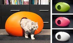 La litière Poo Poo Pee Do est née d'un constat simple : malgré les 10 millions de chats domestiques en France, aucun designer ne porte d'intérêt sur ce marché de niche (…). Ca c'é…