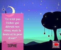 citation...#petitsmotsdesophie L'échec ou la peur d'oser ?