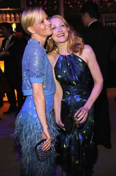 Elizabeth Banks and Patricia Clarkson | 35 Photos Of Celebrities Partying Down At The Oscars After-Parties