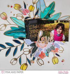 #scrapbooklayout #1canoe2 #twilight #twilightcollection #pinkandpapershop #designteam #janedavenport