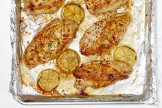 Lemon-Herb Roasted Chicken Chicken Recipes Video, Roast Chicken Recipes, Turkey Recipes, Lemon Herb Roasted Chicken Recipe, Easy Meal Prep, Easy Meals, Roasted Almonds, Kraft Recipes, Healthy Eating Tips