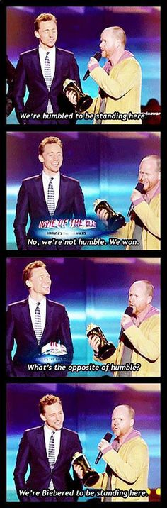 Best acceptance speech ever…
