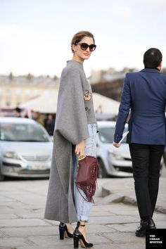 I'm nutter butters for that cape. #SofiaSanchezBarrenchea in Paris
