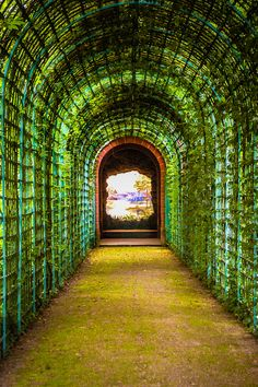 """SCHWETZINGEN CASTLE Gardens - Germany by mbell1975, via Flickr. This is actually called """"ende der Welt"""""""