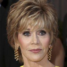 Jane Fonda's Short Haircuts for Women Over 50