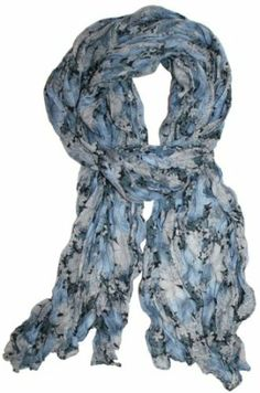 LibbySue-Wildflower Floral Print Scarf in Your Choice of Colors in Grays http://www.branddot.com/13/LibbySue-Wildflower-Floral-Print-Choice-Colors/dp/B00BXF2FX6/ref=sr_1_82/181-1948060-4751516?s=apparel