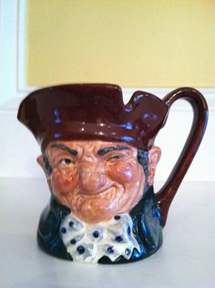 Vintage Royal Doulton Old Charley D 5527 Toby Jug 3 by Chichesters, $24.95