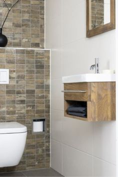 powder room with wall hung toilet - Google Search