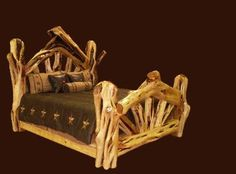 I want this log bed for my future cabin