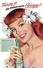 vintage ad for ginger