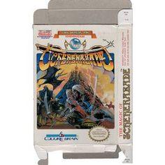 Magic of Scheherazade, The - Empty NES Box