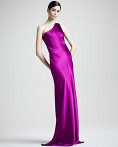 b06a5578b4c0 Julien One-Shoulder Gown by Ralph Lauren Black Tie Formal