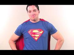 Tutoriel vidéo : Comment fabriquer un costume de superman ?