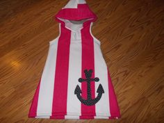 Girls beach cover up by TRboutique on Etsy, $25.00