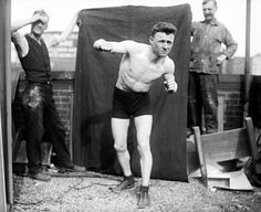 vintage everyday: Boxing in the Early 20th Century – 22 Vintage Snapshots of Boxers From Between the 1900s and '20s