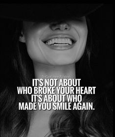 It's not about who broke your heart.. #quote #love