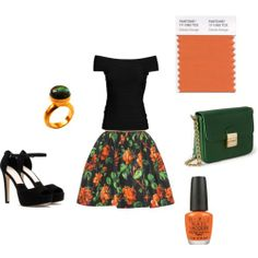 How to match orange and green