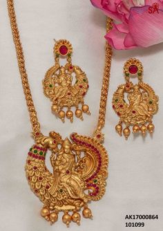 Gold Jewelry From Egypt Key: 1929776464 Kids Gold Jewellery, Gold Jewelry Simple, Gold Jewellery Design, Temple Jewellery, Antique Jewellery, Bridal Jewellery, Jewellery Box, Gold Earrings Designs, Necklace Designs