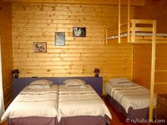 This four bedroom #furnished #chalet in the #alps is the great place to retreat from the world for a little peace and quiet. But don't worry about being too disconnected - it still has TV and internet access! http://www.nyhabitat.com/south-france-apartment/bed-breakfast/1017
