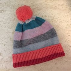 Gap Stripe Beanie Skull Cap Brand new, never worn. Excellent condition. Tags attached. Really warm and comfortable. One Size. 53% lambs' wool 47% nylon. GAP Accessories Hats